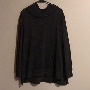 Large tunic hoodie